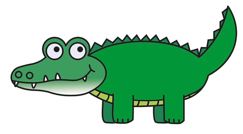 Collection of free crocoisite. Vector alligator chef cartoon picture free stock