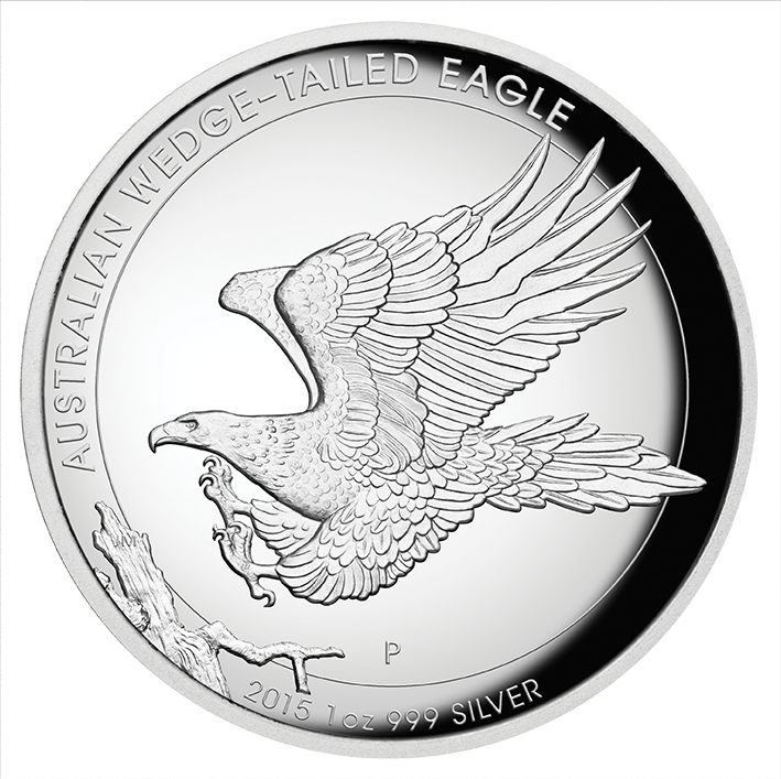 Australian drawing wedge tail eagle. Oz pure silver