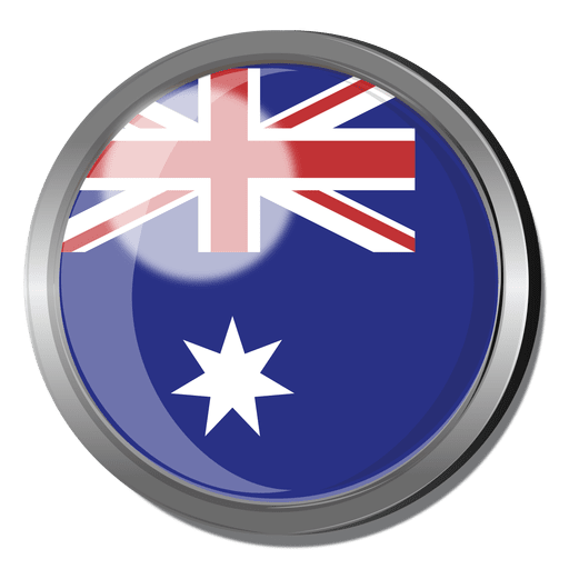 Australian flag png. Australia badge transparent svg