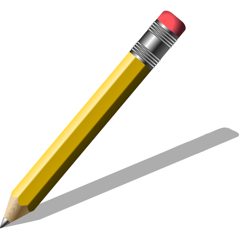 Pencil clipart. Free images of a