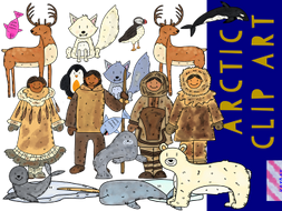Author clipart revision. Arctic by katqatresources teaching