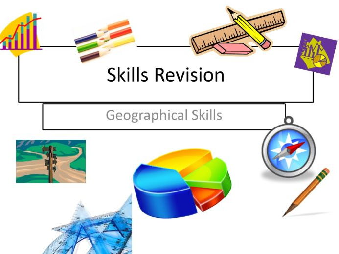 Author clipart revision. Geography skills cover image