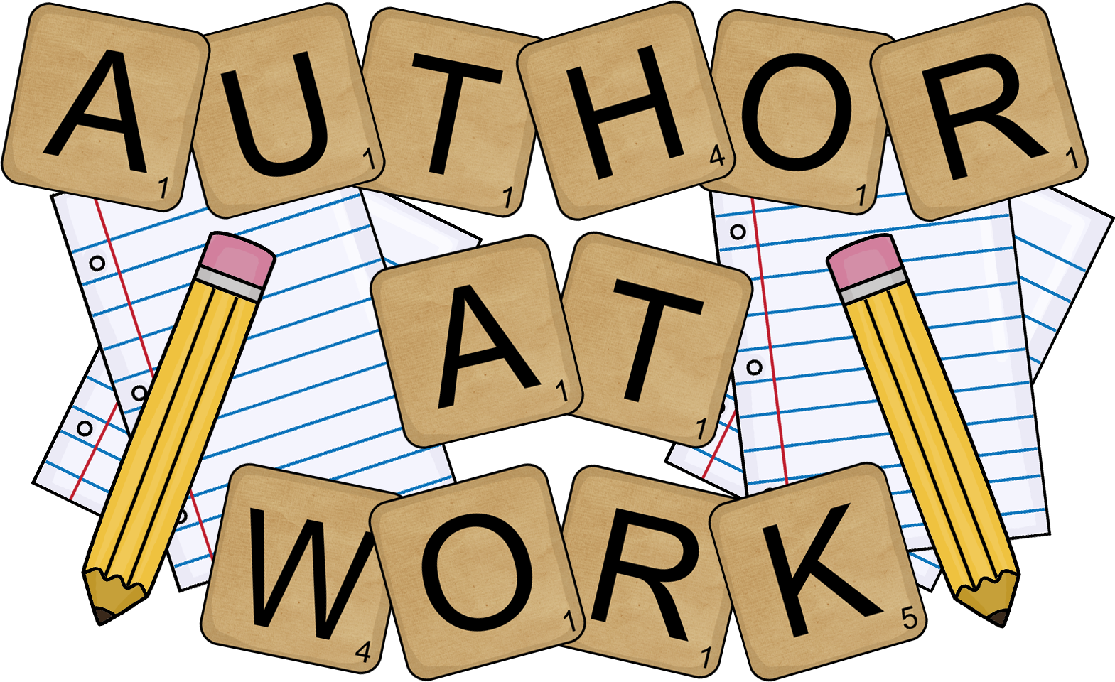 writer clipart wrote