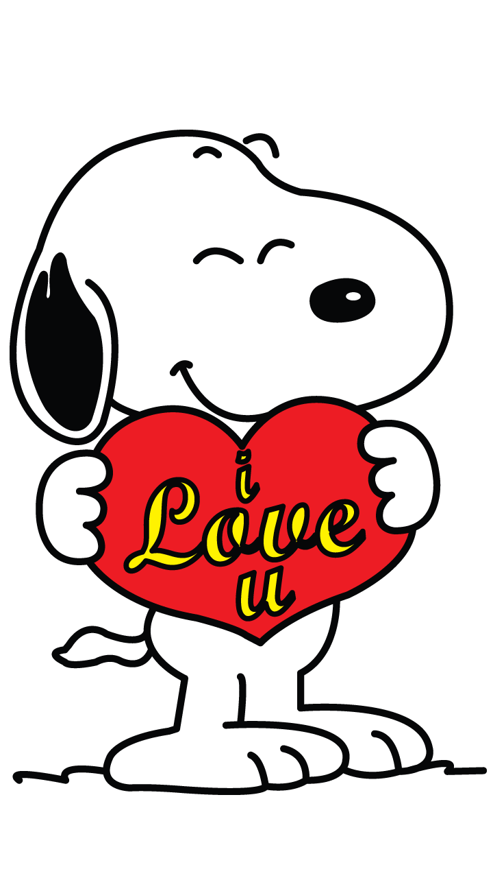 valentine clipart snoopy