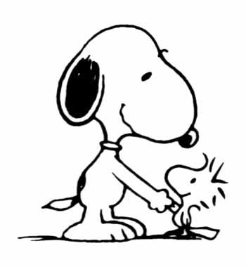 Free clip art pictures. Snoopy clipart vector stock