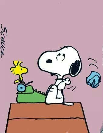 Author clipart snoopy. The writing amy lillard