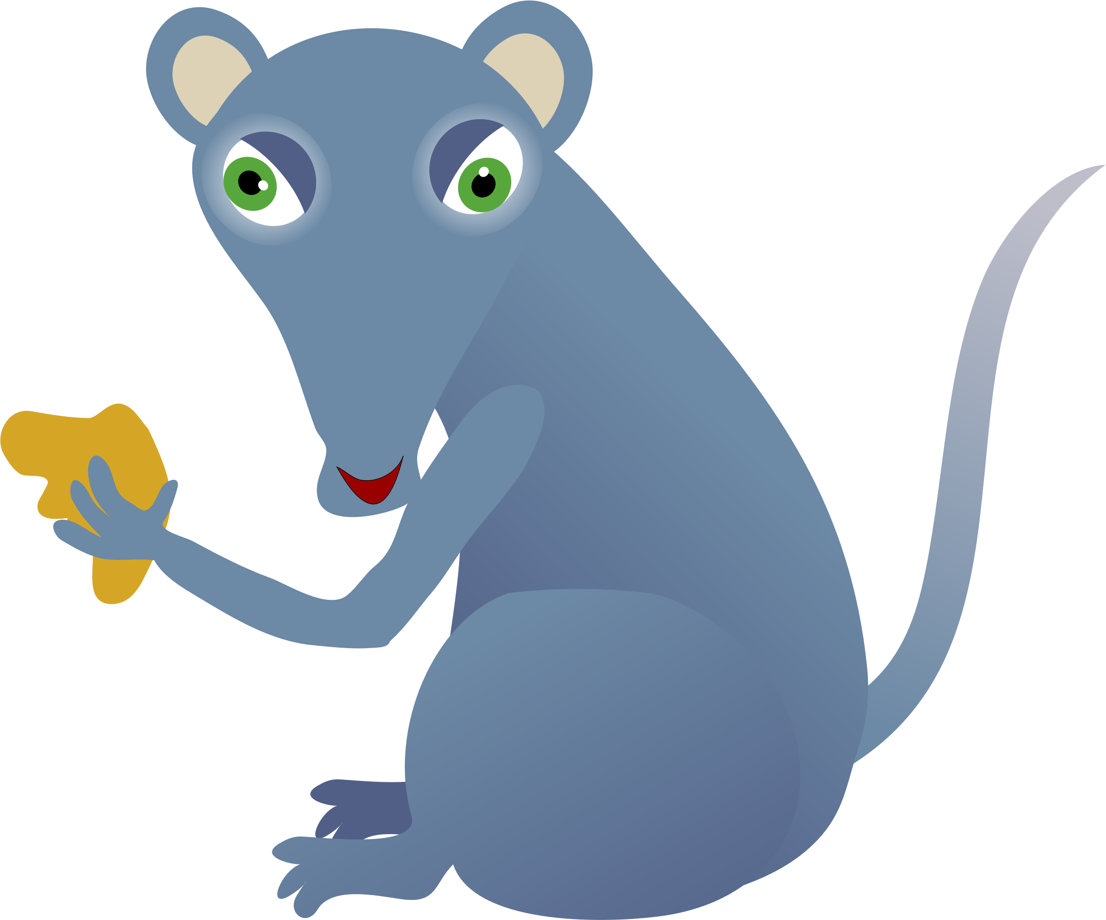 Author clipart transparent. Rat free to use