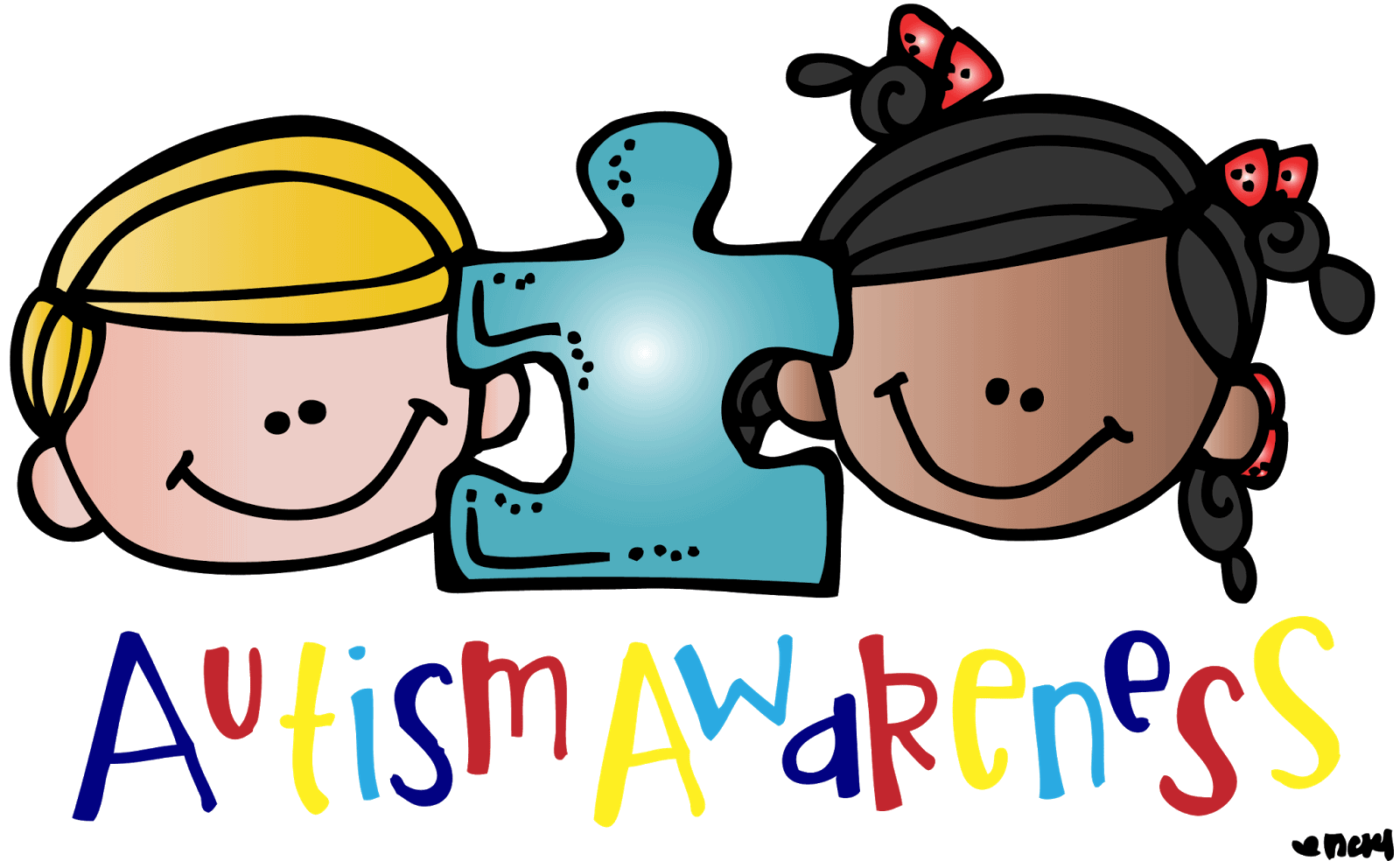 Autism clipart. Wonderful world day