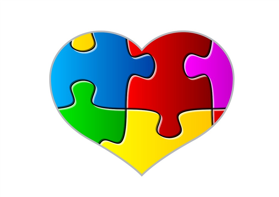 Autism clipart autism heart. Helping kids with spectrum