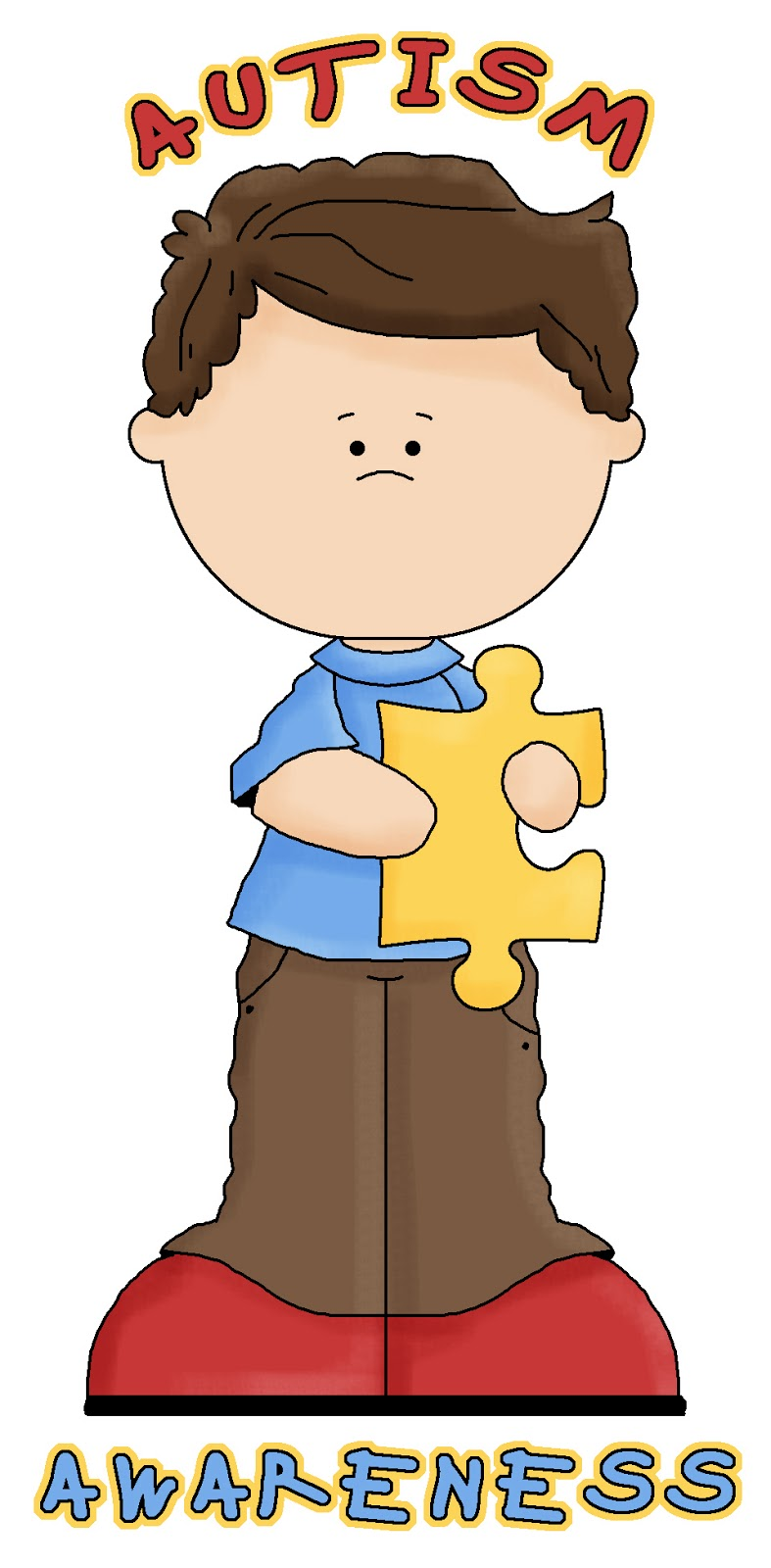 Autism clipart autistic child. Teacher mom of tips