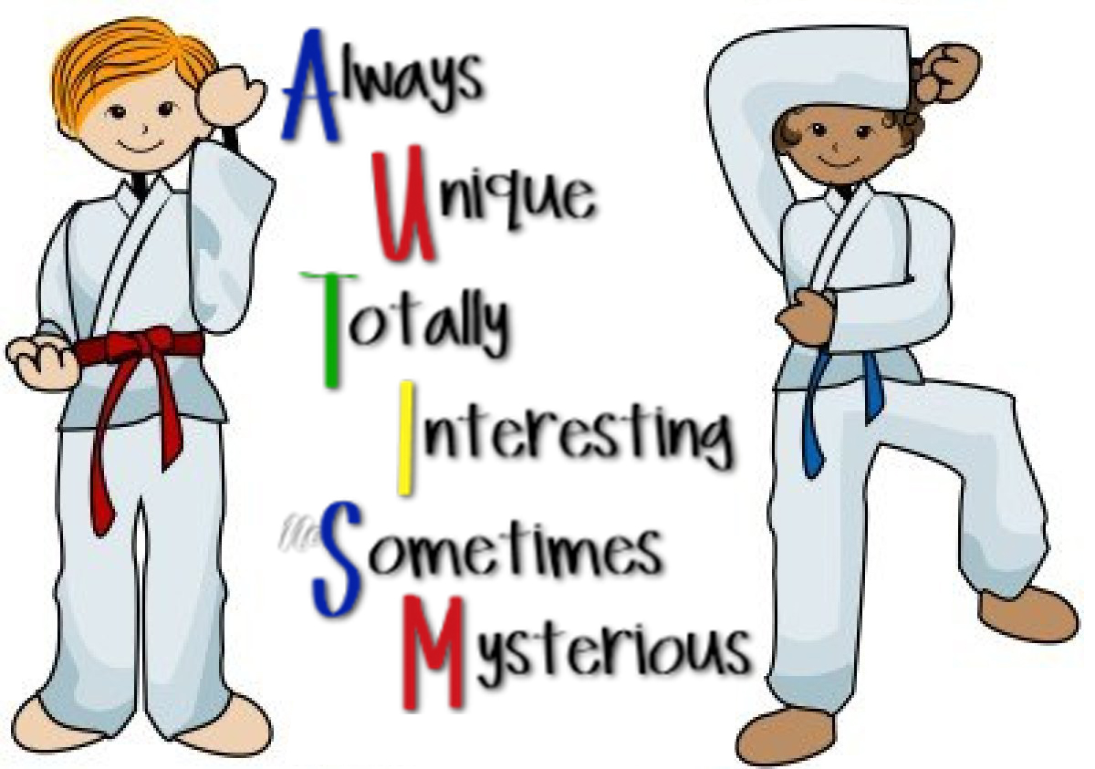 Autism clipart autistic child. Bruce mccorry s martial