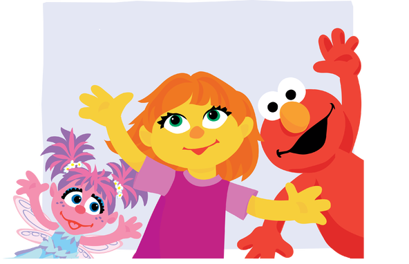 Autism clipart characteristic. Sesame street has a