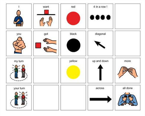 Autism clipart diagonal communication. Boardmaker achieve connect slp