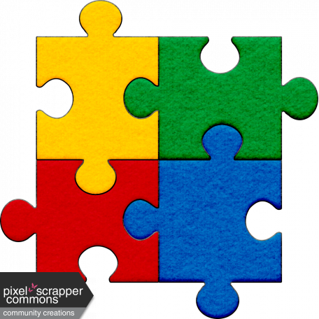 Autism puzzle png. Pieces graphic by kayl