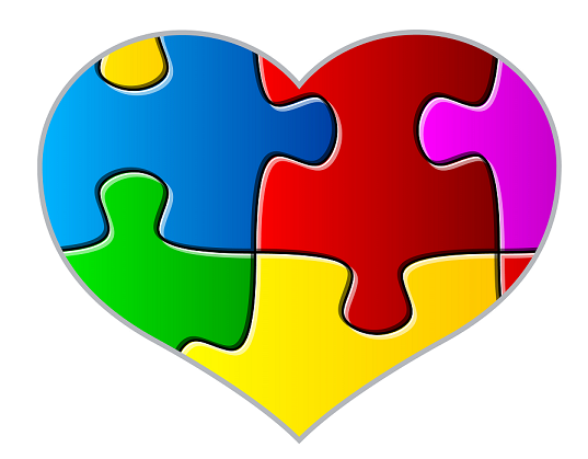 autism heart png