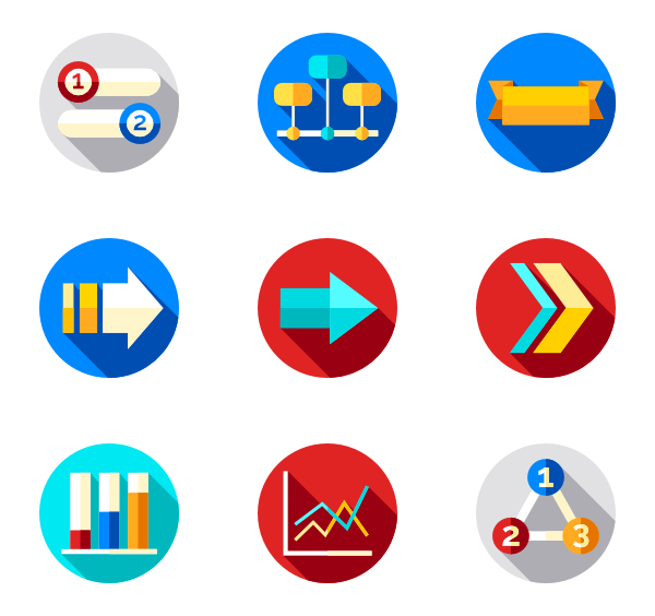 Male vector infographic. Free icon download icons
