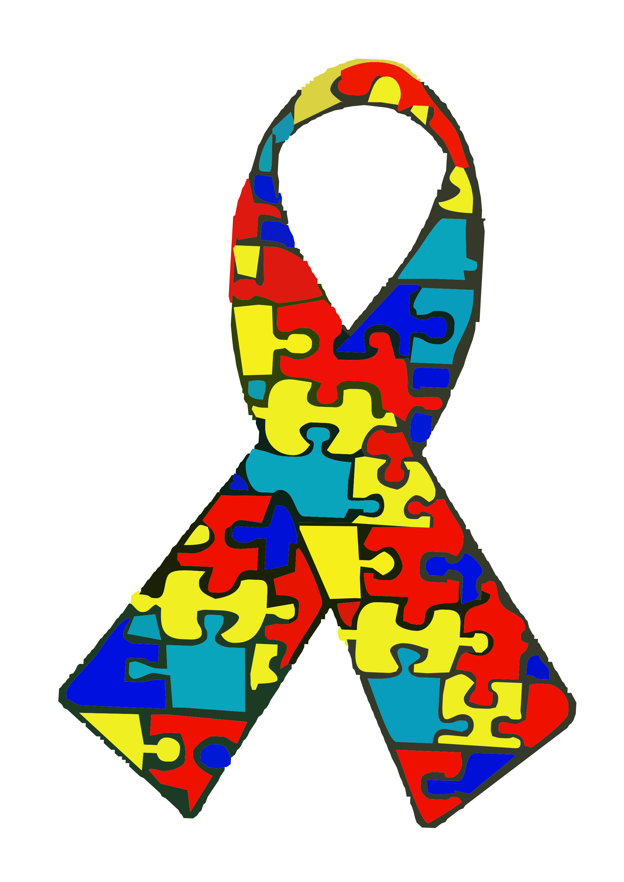 Autism vector svg. File wikimedia commons open