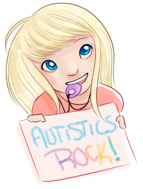 Autistic drawing girl. Sjw art and extremes