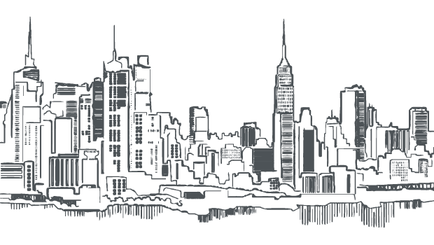 Autistic drawing skyline new york. Stanford in newsletter