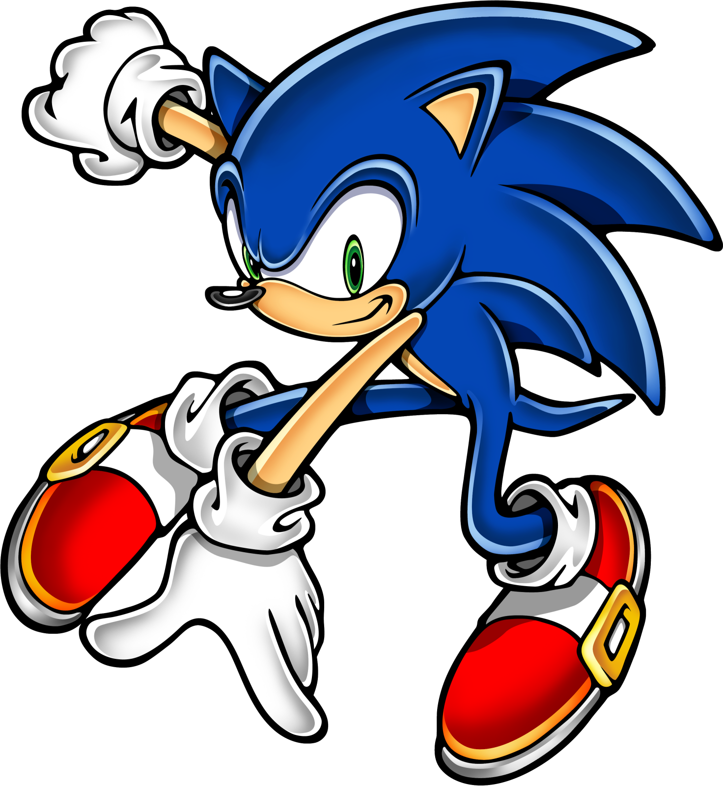 Giantess drawing sonic the hedgehog. Art assets dvd png