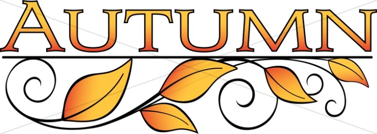 Autumn clipart autumn word. Leaves art thanksgiving