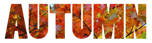 Autumn clipart autumn word. Clip art fall season