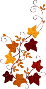 Autumn clipart element. Fall leaves svg cutting