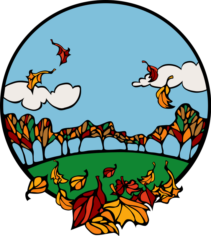 Welcome fall at getdrawings. Zoo clipart scenery picture library library