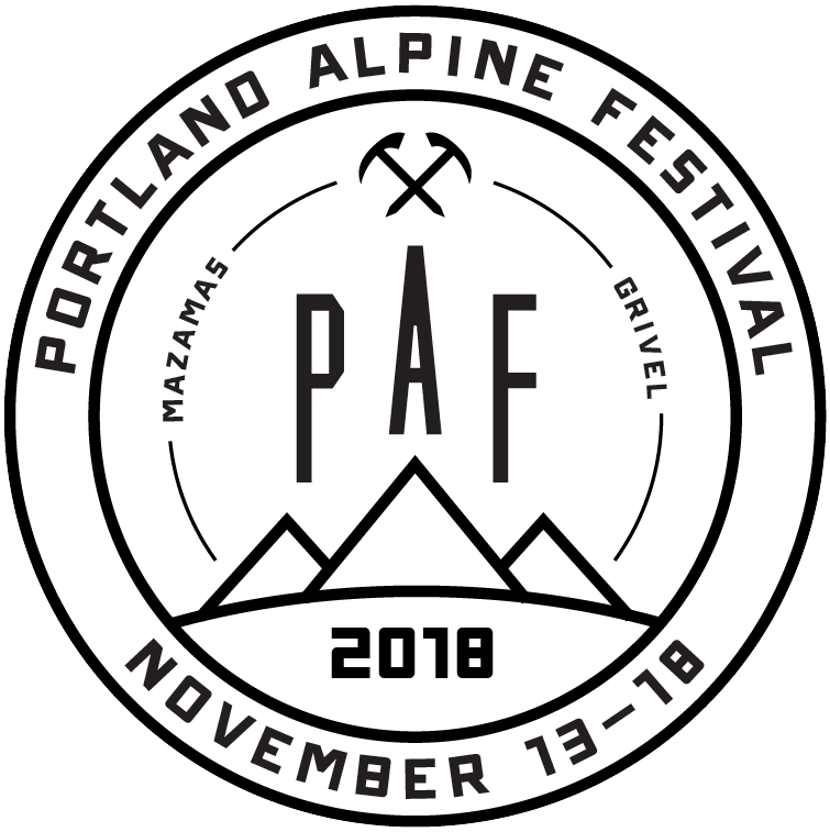 Avalanche drawing logo. Winter is coming forecasting