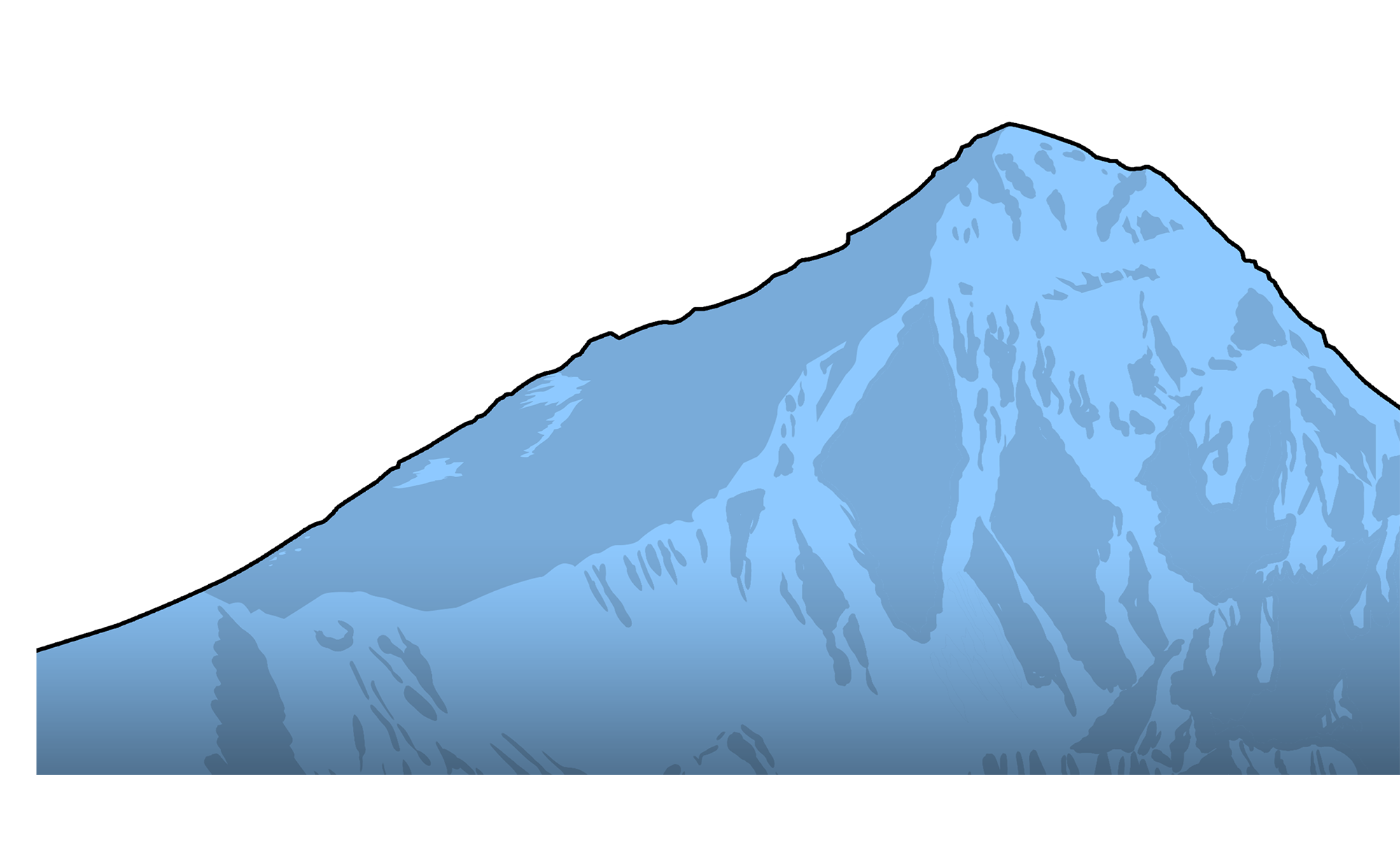 Avalanche drawing mount everest. The deadly mountains why