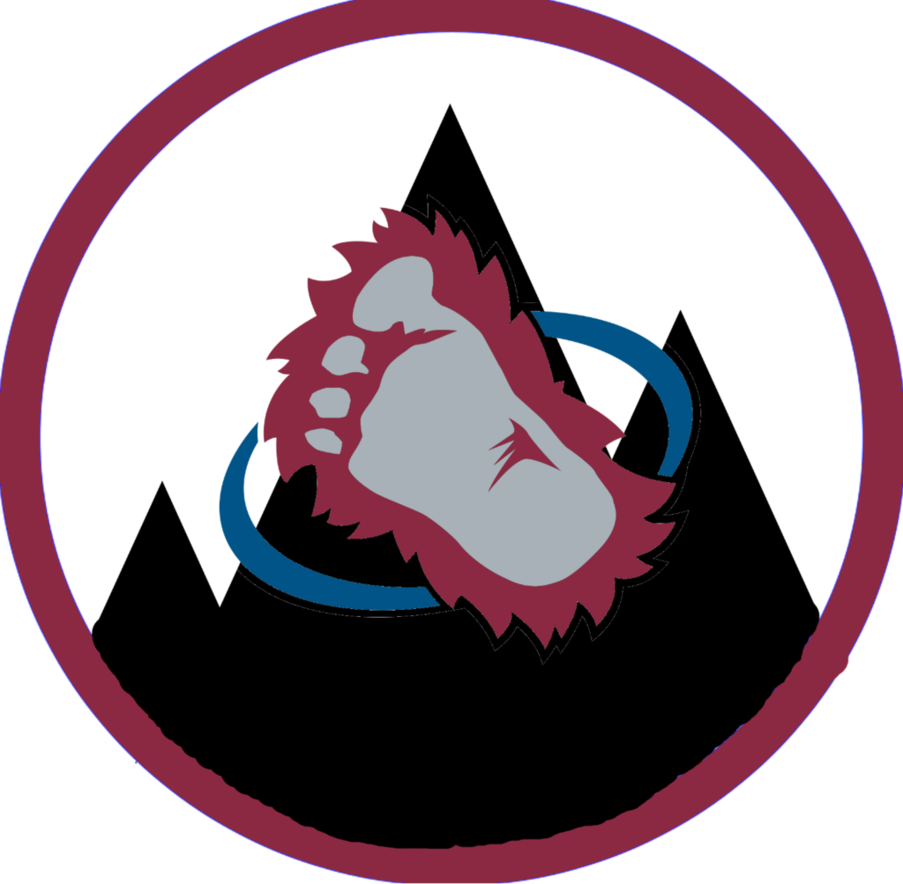 Colorado drawing custom. First avalanche logo by