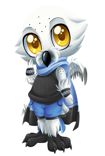 Avalanche drawing owl. P by metalpandora on