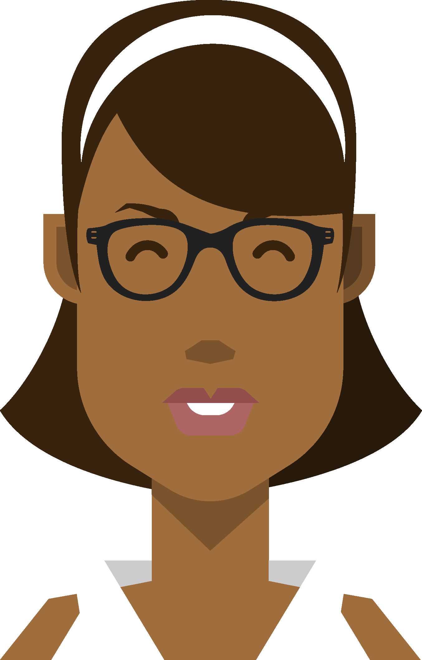 Vector avatars portrait. Free illustrated do you