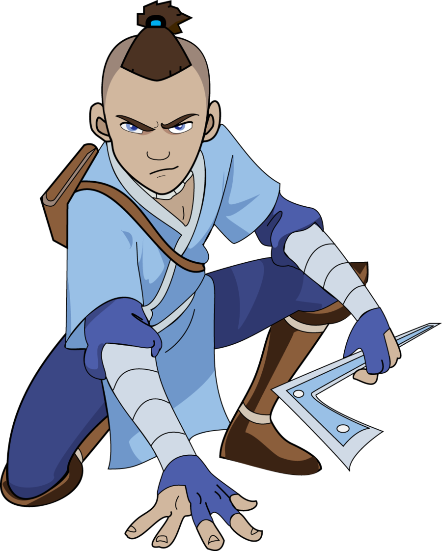 sokka drawing avatar the last airbender