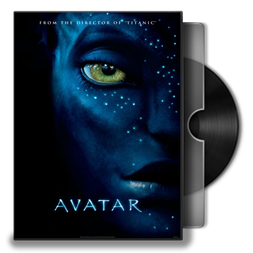 Avatar movie poster png. Folder icon vol by