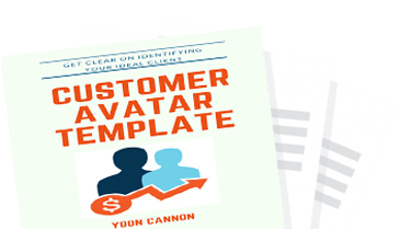 Avatar template png. Customer yoon cannon as