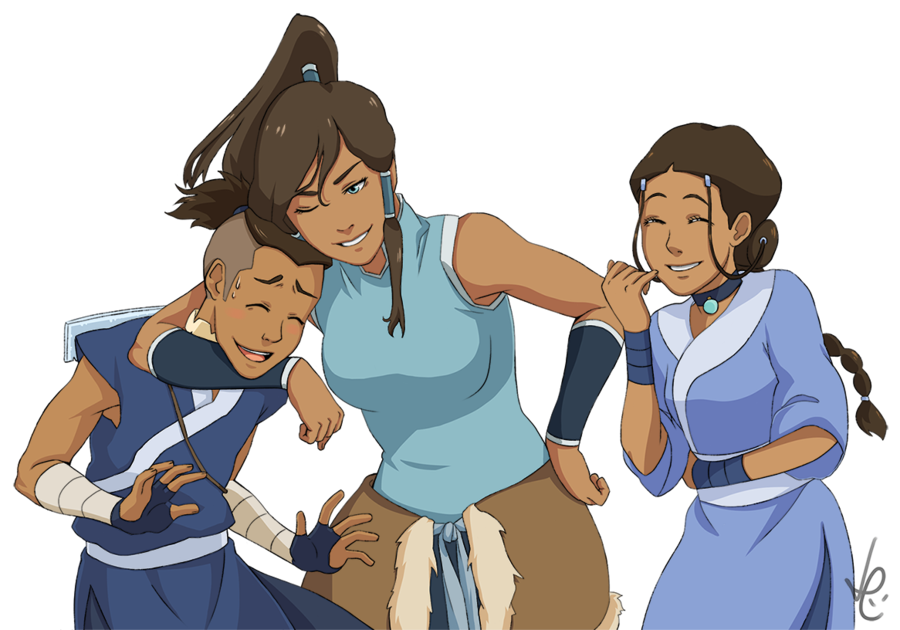 Avatar the last airbender characters png. Water benders legend of
