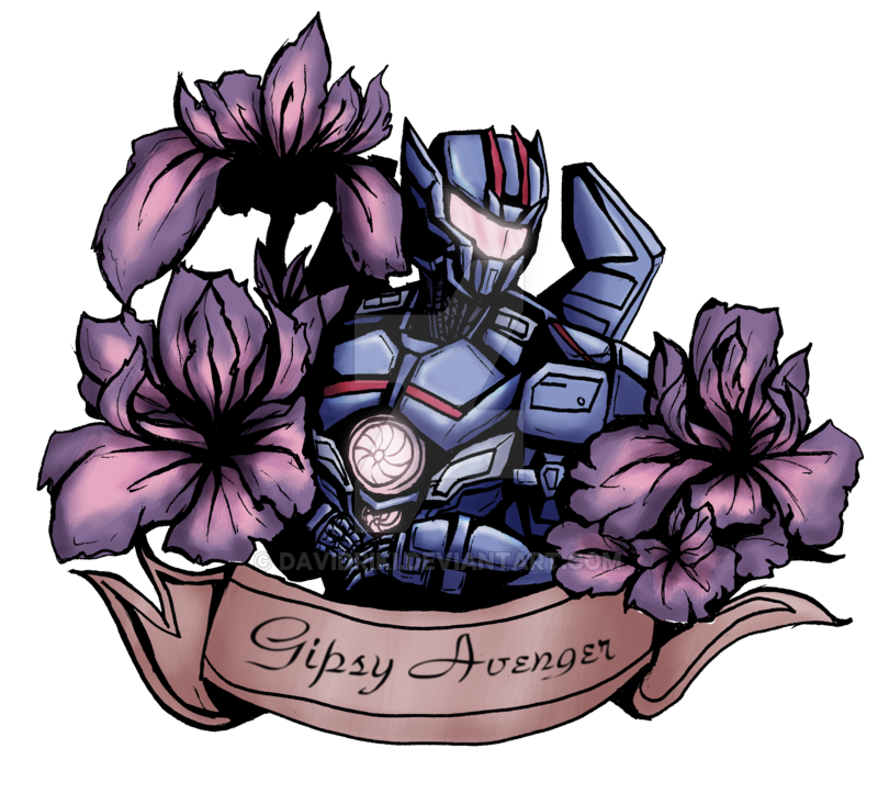 Avenger drawing gipsy. By davidriki on deviantart