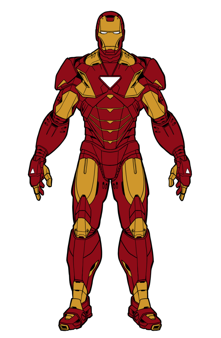 Avenger drawing iron man. By illustrationoverdose on deviantart