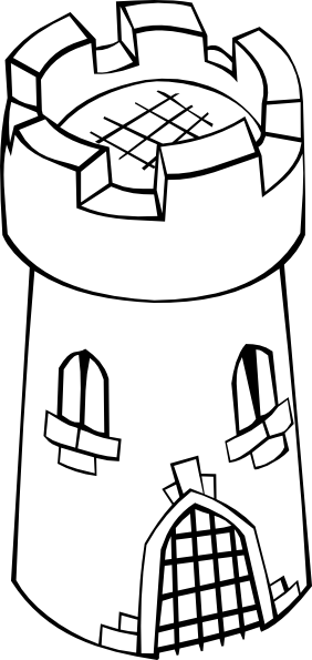 Castle clip tower. Drawing at getdrawings com