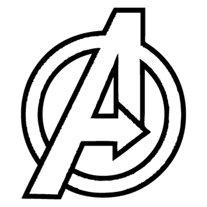 Avengers a logo png. Decal