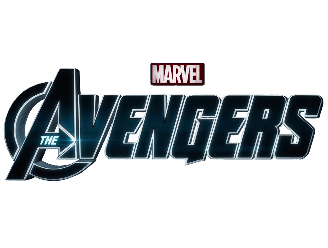 The avengers logo png. Font sticker marvel