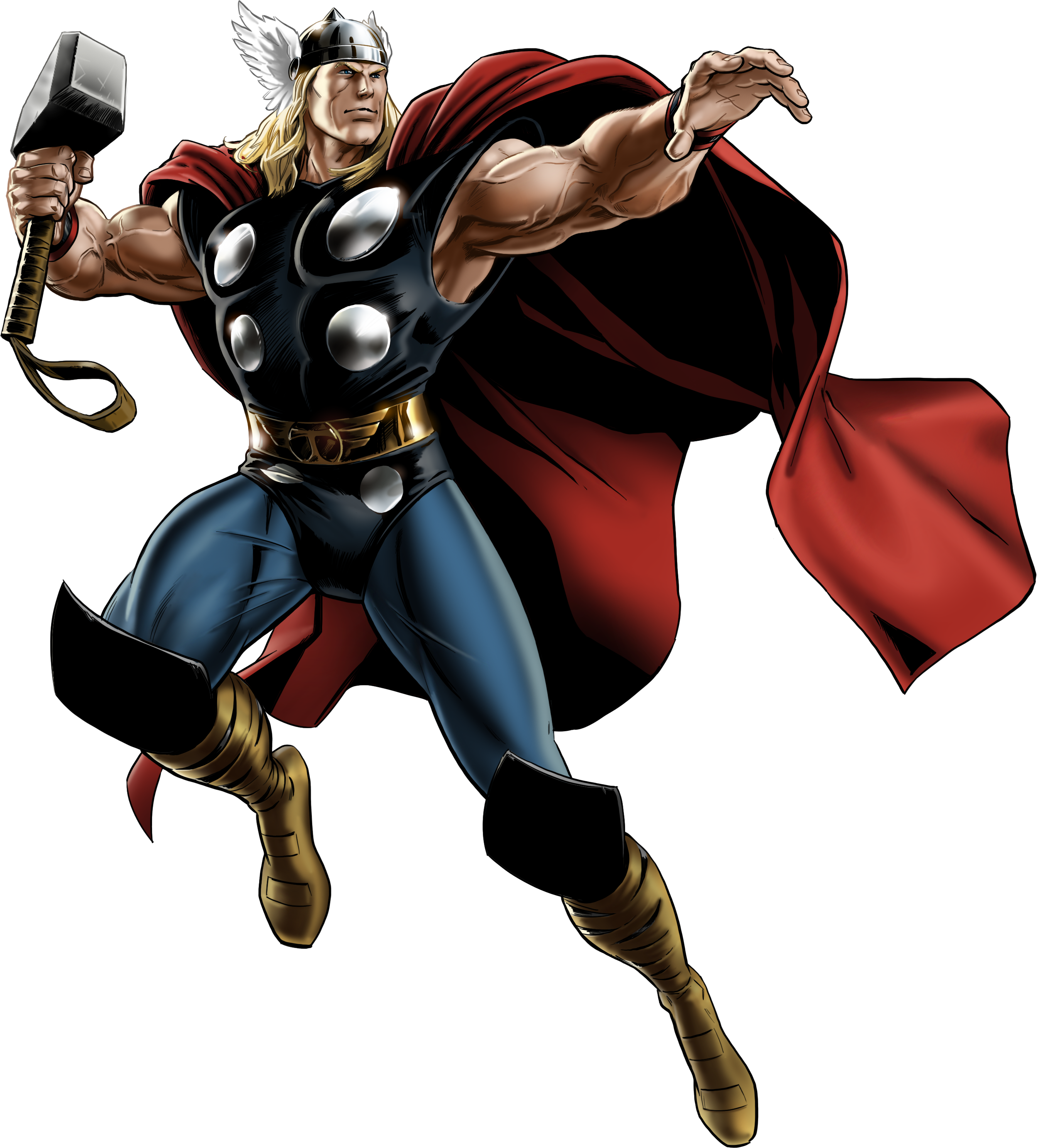Thor comic png. Marvel avengers alliance classic