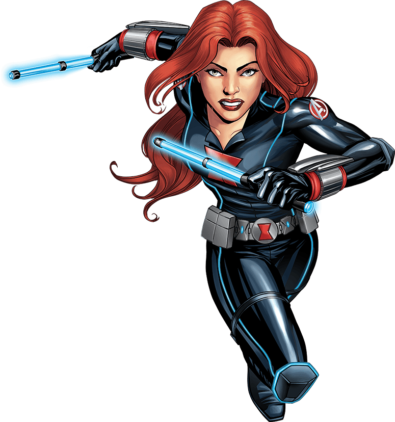 Avengers cartoon png. Image usa skchi blackwidow