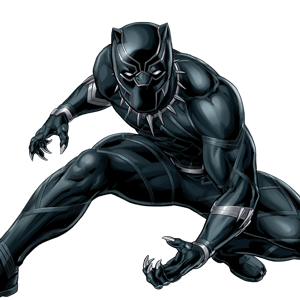 Revolution drawing black panther. Jungle pursuit avengers games