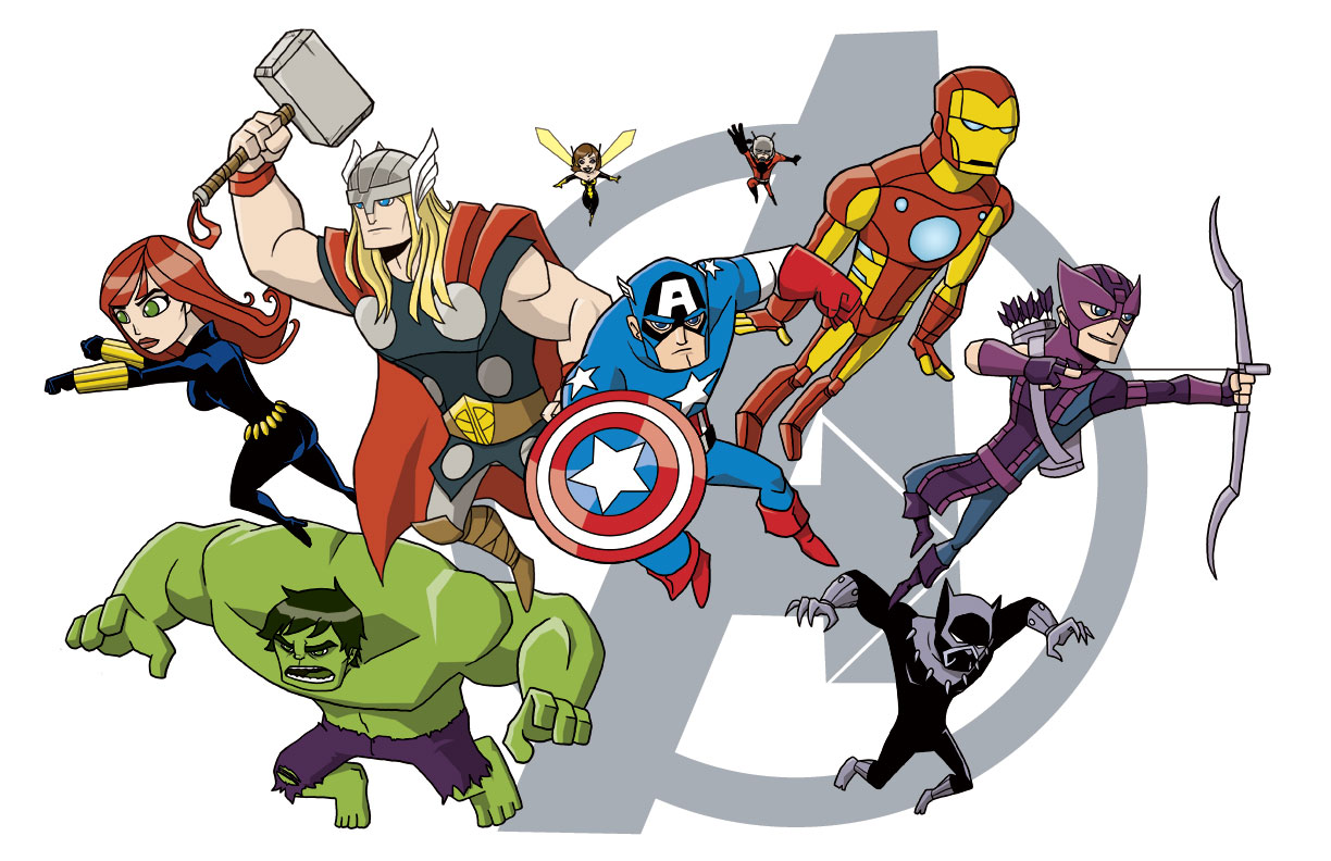 Avengers clipart avengers movie. Nate xopher assemble i