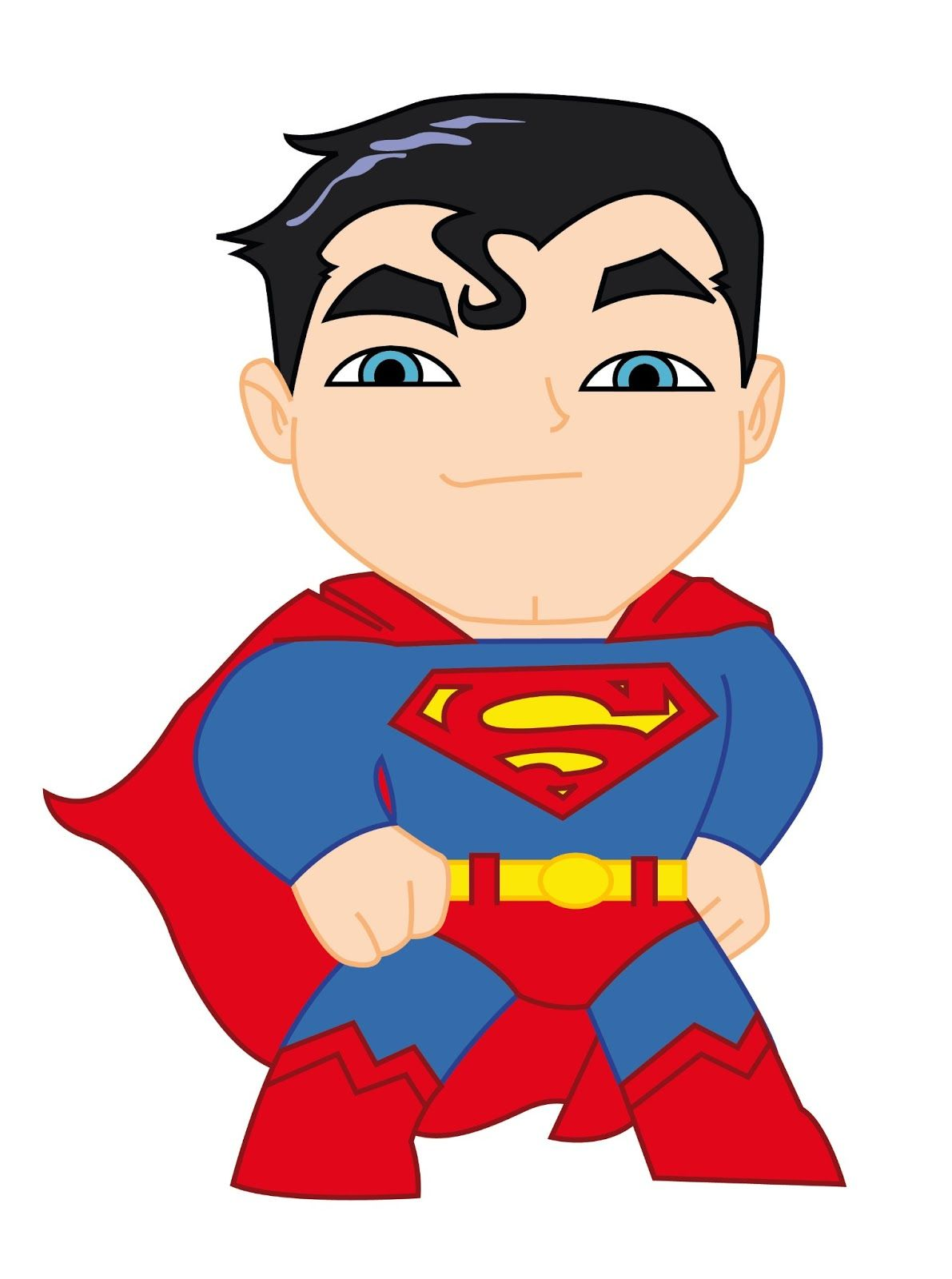 Avengers clipart justice league. Superman background cute chibi