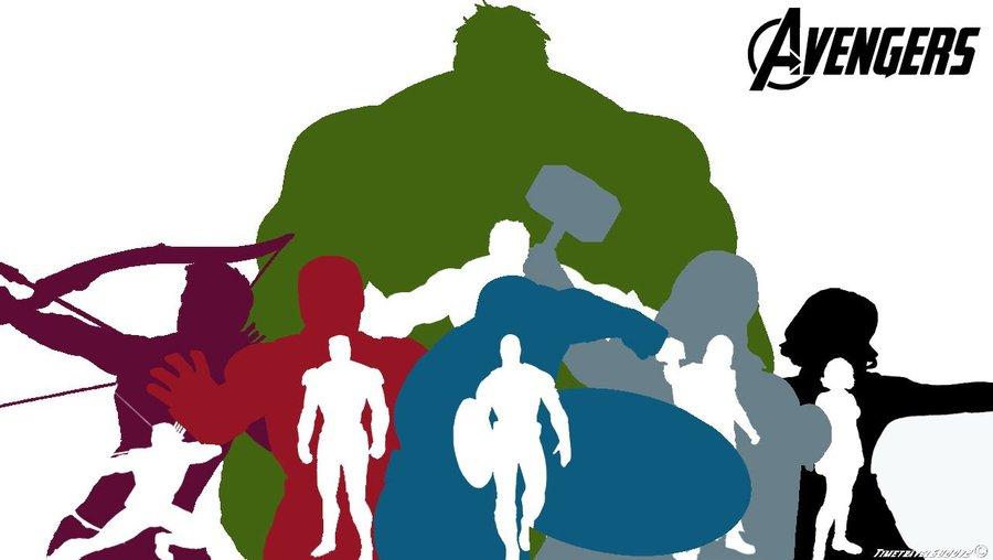 Avengers clipart silhouette. At getdrawings com free