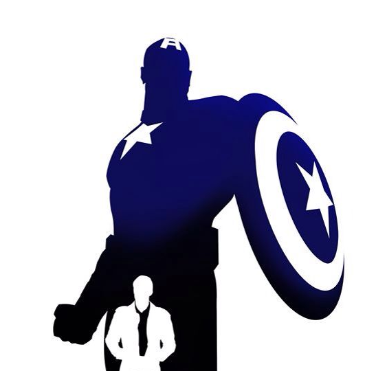 Avengers clipart silhouette. Captain america at getdrawings