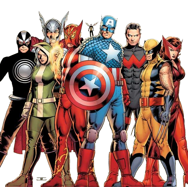 Transparent comic marvel. Avengers png images pluspng